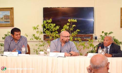 شاهد صور وفيديو ندوة الكاتب وليد فكري التي اقيمت يوم الجمعة 29 مايو
