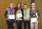 ناردين إيهاب تحصل على المركز الثالث ببطولة كأس مصر للسلاح