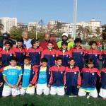 فريق 2005 يمثل نادي سبورتنج و مصر في بطولة البرتغال الدولية لكرة القدم