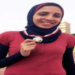 سارة طبانة تحرز برونزية ببطولة الجمهورية ألعاب القوى