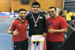 اسلام خيري يفوز بالمركز الثاني في بطولة الجمهورية للتايكوندو
