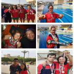 فريق الأصدقاء يتألق بكأس مصر للسباحة