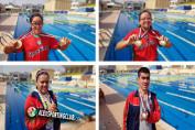 فريق الاصدقاء يحقق ٦ ميداليات بكأس مصر للسباحة