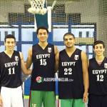 منتخب مصر لكرة السلة تحت ١٦ سنة يضم رباعي سبورتنج