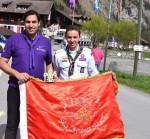 أحمد داوود ممثل مصر في المؤتمر الكشفي العالمي التربوي بسويسرا