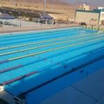 معسكر للسباحة بمدينة شرم الشيح