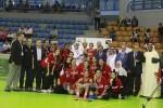 منتخب مصر لكرة السلة سيدات يفوز بالبطولة العربية