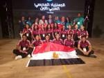 تألق سباحي سبورتنج ببطولة الجمنزياد العربي المدرسي الأول