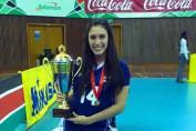 لينا طارق تشارك مع منتخب الطائرة ببطولة العالم تحت ٢٣ عام