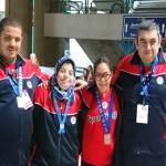 نتائج اليوم الاول لفريق الاصدقاء بدورة الالعاب الوطنية للاولمبياد الخاص المصري
