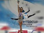 جمباز | حور شريف فرغلي  تحقق المركز الاول فى بطولة  winter cup leverkusen