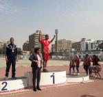 سبع ميداليات حصيلة فريق الأصدقاء فى بطولة الجمهورية لألعاب القوى