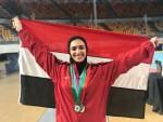 سارة نونو تحرز فضية بطولة البحر المتوسط للسلاح