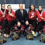 لاعبات سبورتنج للسلاح تواصل التألق بالدورة العربية