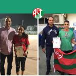 نتائج لاعبي سبورتنج لألعاب القوى في بطولة الجمهورية