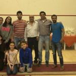 نتائج لاعبي النادي ببطولة هليوبوليس الإسكواش
