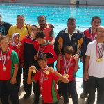 نتائج مميزة لفريق الأصدقاء في بطولة الجمهورية للسباحة