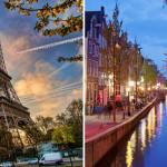 رحلة إلى باريس و امستردام
