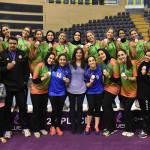 طائرة سيدات سبورتنج ثاني كأس مصر