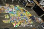 أطفال مرسم الفنان الصغير في معرض مصر السلام ضد الإرهاب
