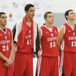 ثلاث لاعبين من سبورتنج مع منتخب مصر لكرة السلة تحت ١٧ سنة بكأس العالم