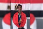 أحمد ياسر يحصل على الذهبية اليد مع المنتخب المصري بدورة الألعاب الإفريقية