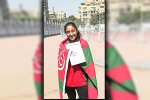 رولا تفوز بفضية رمي الرمح ببطولة الجمهورية للأشبال