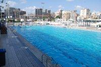 منطقة حمامات السباحة